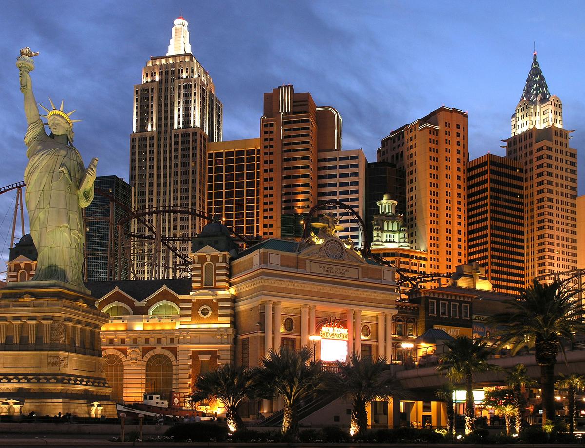 Американское казино лас вегас
