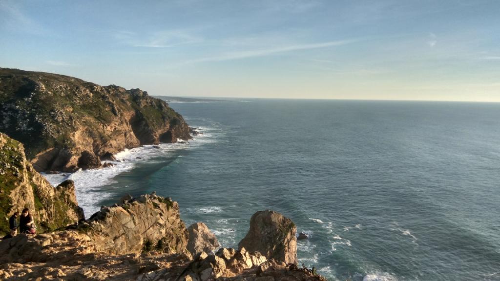 Вид с мыса Рока в Португалии