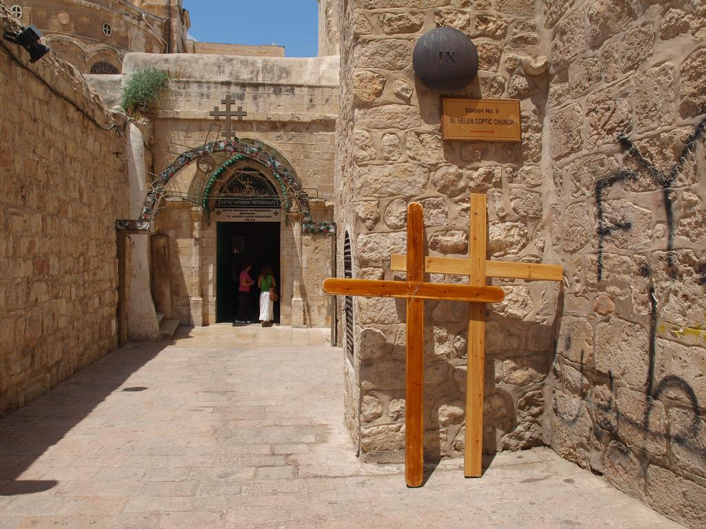 Коптская церковь Св. Елены, Дорога Скорби, Иерусалим
