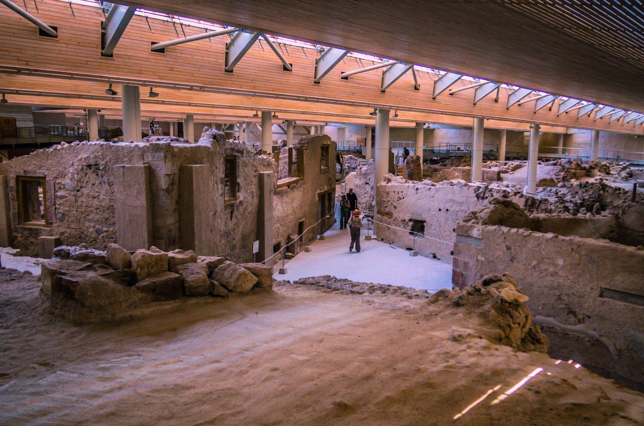 Раскопки Акротири, Санторини