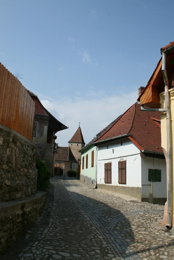Улицы Сигишоары, Румыния.JPG