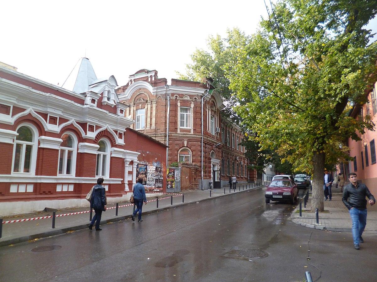 Административный корпус Ростовского университета