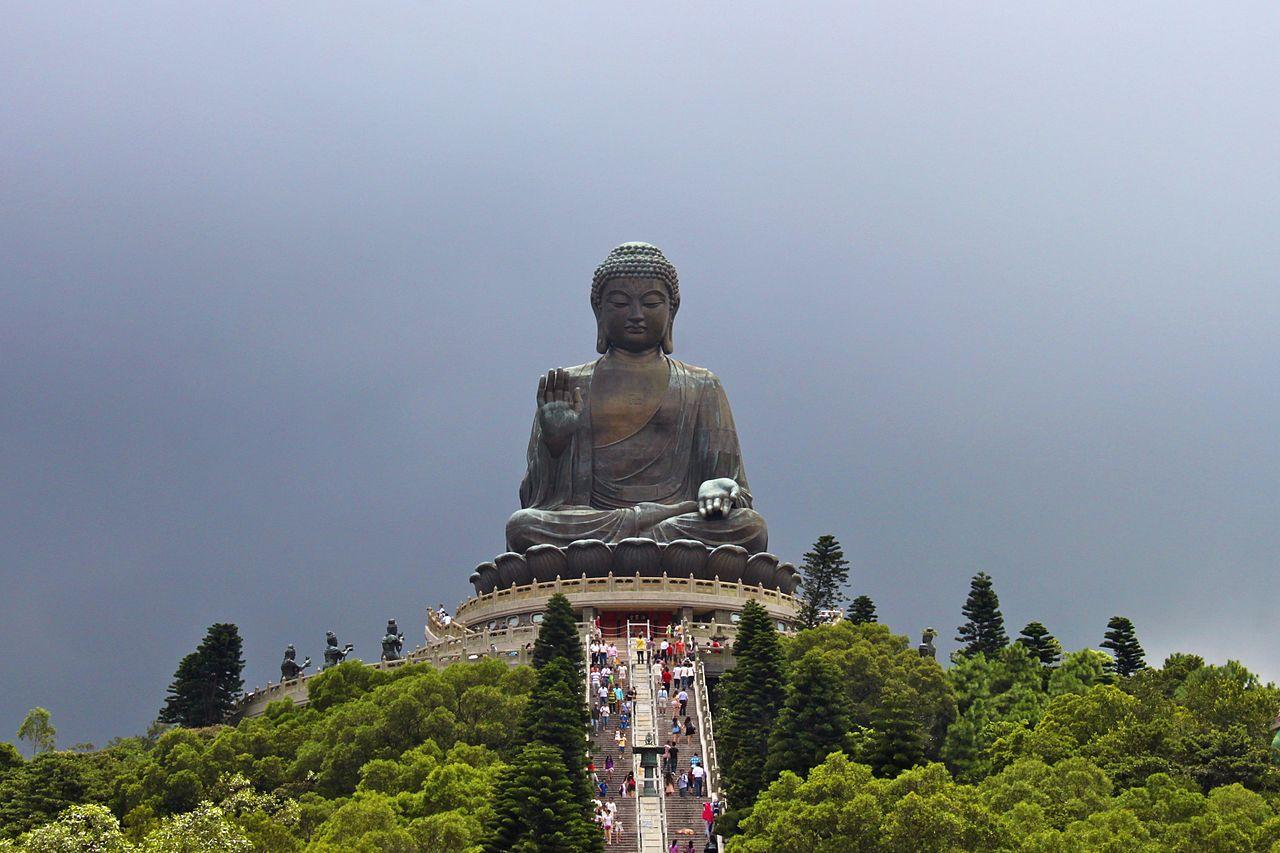 Большой Будда (Тяньтань Будда) в Гонконге