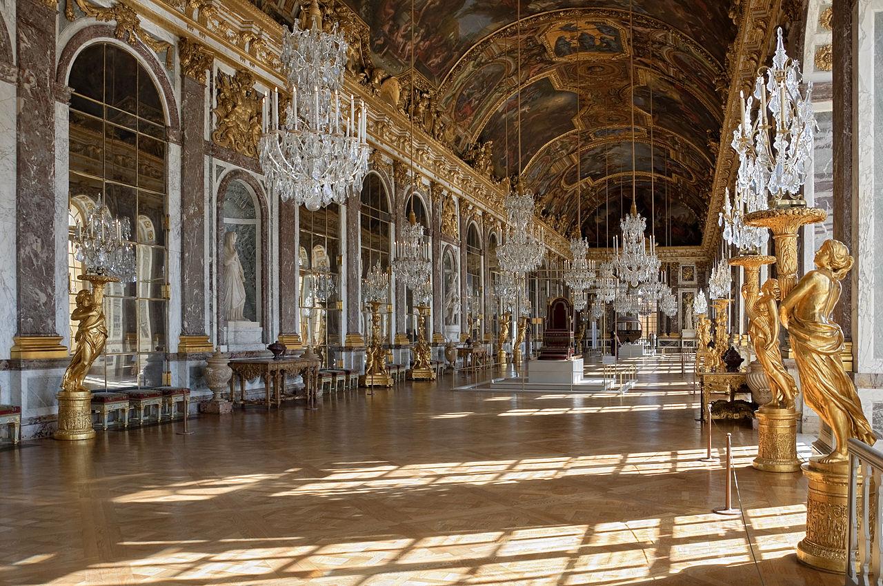 Версальский дворец, Зеркальный зал