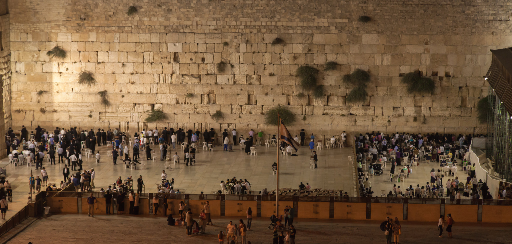 Вид стены Плача, Иерусалим