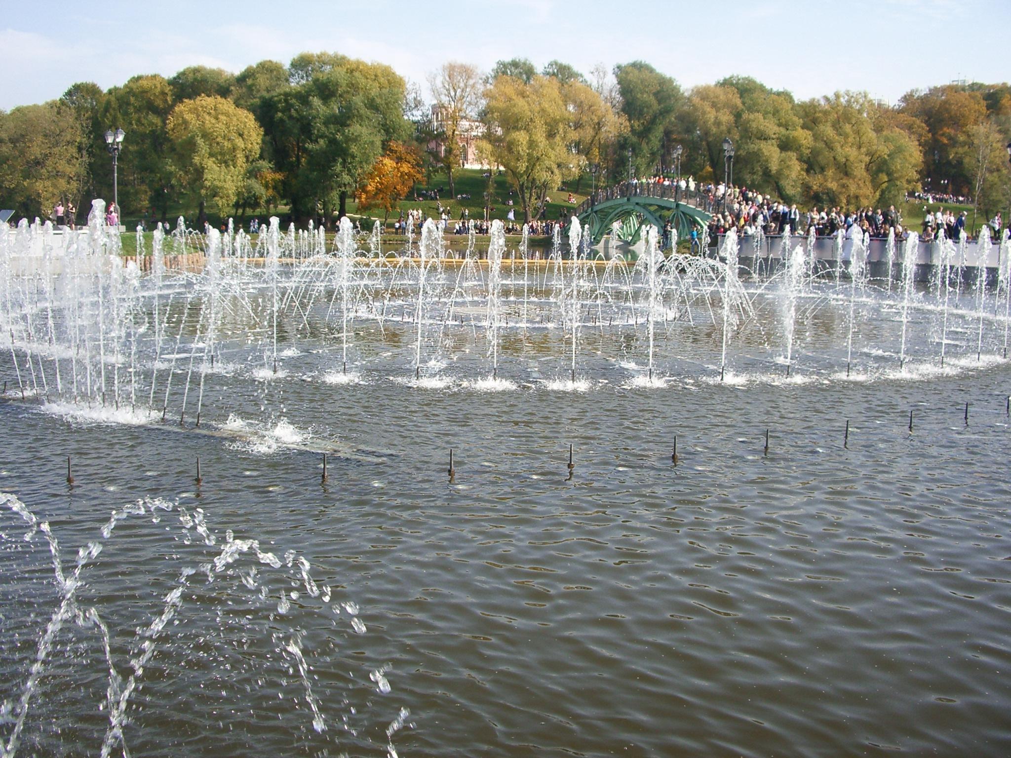 Фонтан, Царицыно, Москва