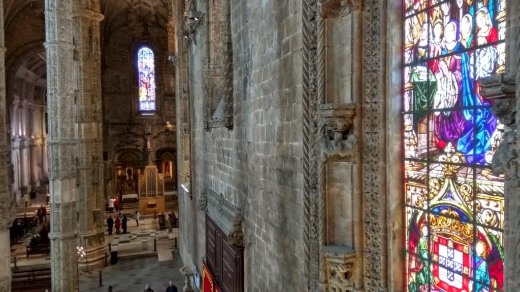 Витражи в монастыре Жеронимуш, Лиссабон