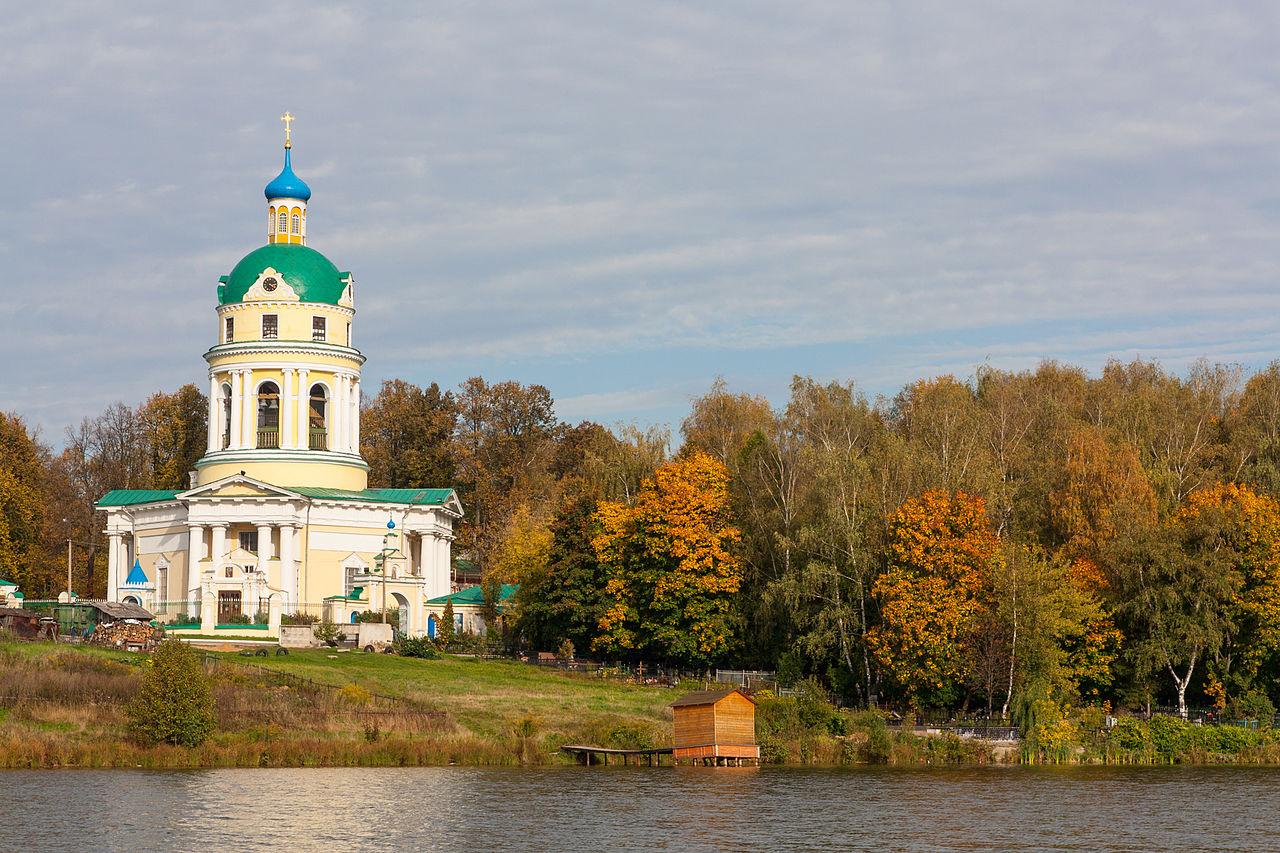 Гребнево, Никольская церковь