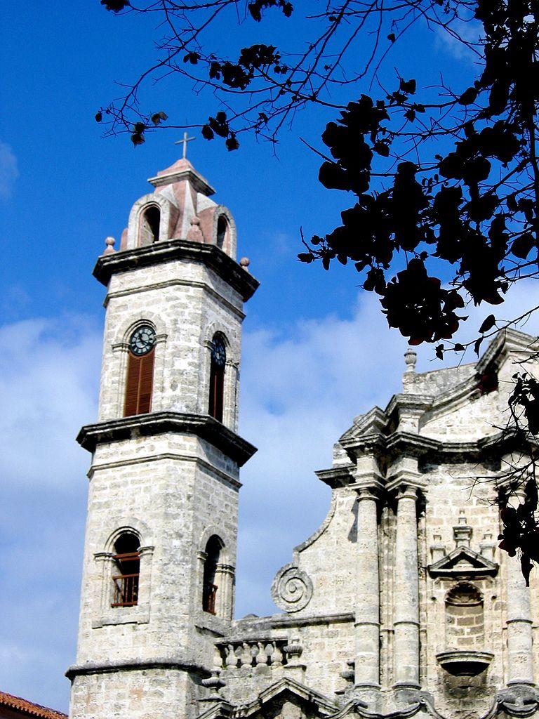 Кафедральный собор Гаваны, колокольня