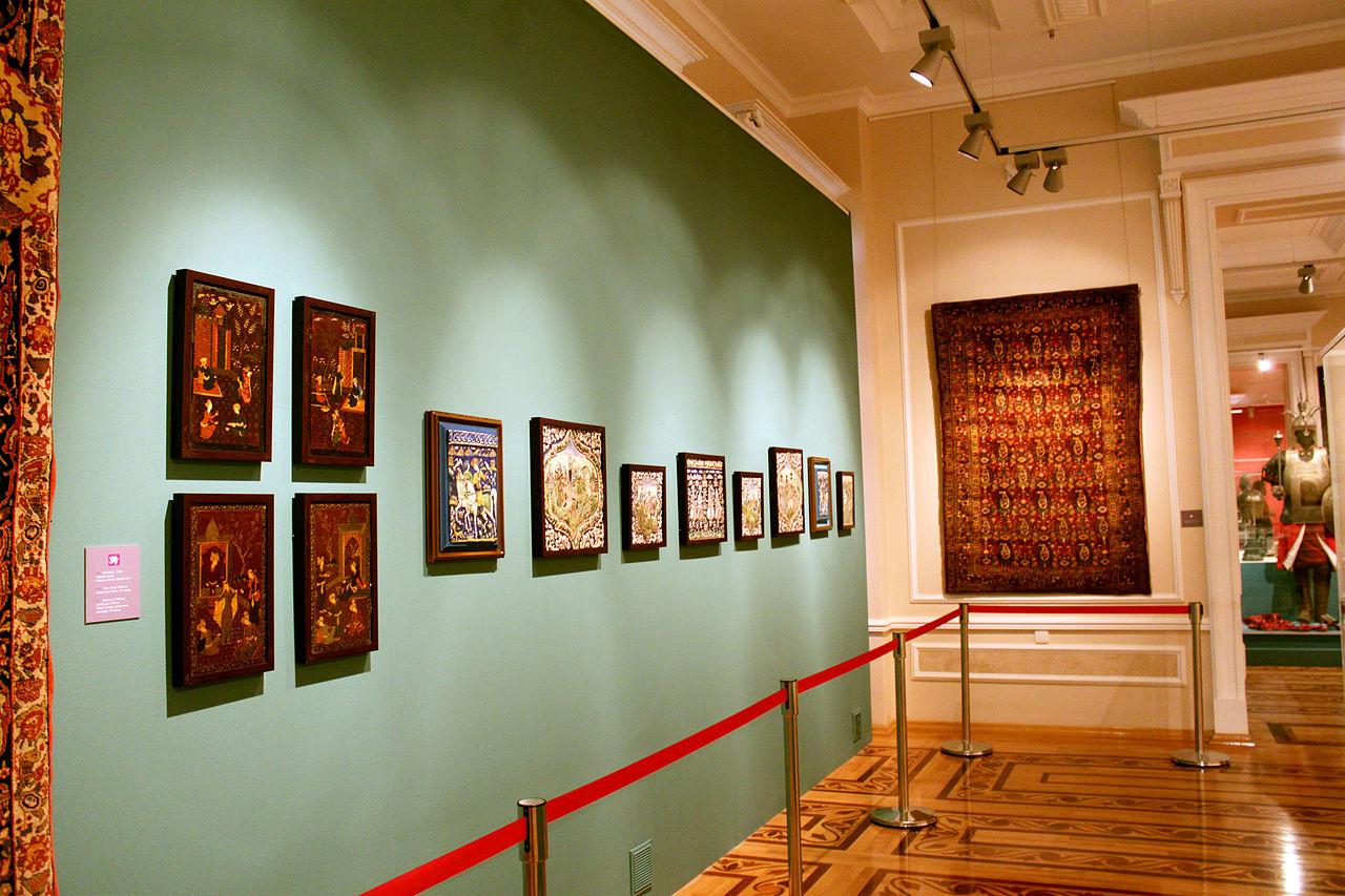 Музей искусств Азербайджана, один из залов