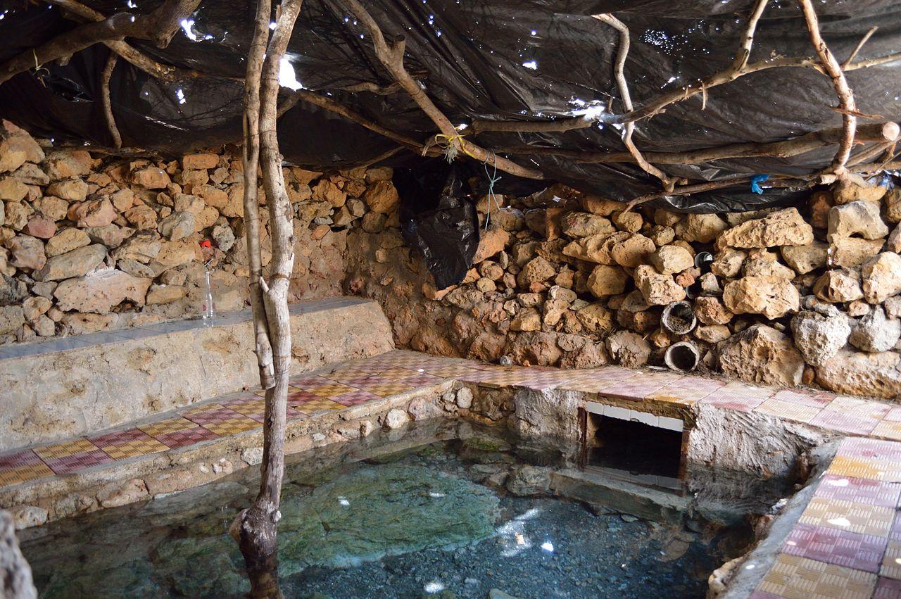 Национальный парк Ишкель, горячий источник
