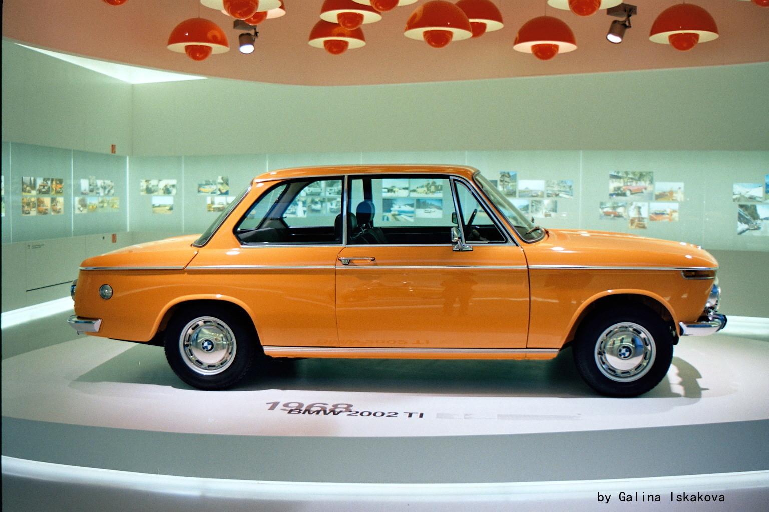 BMW 200 TI, музей BMW