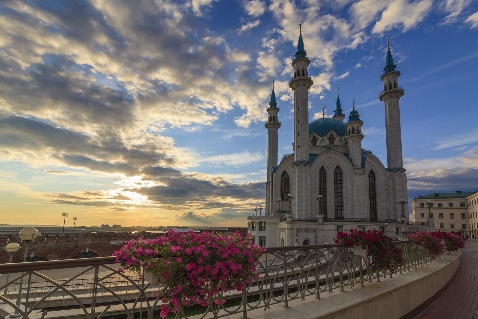 Мечеть Кул-Шариф на закате