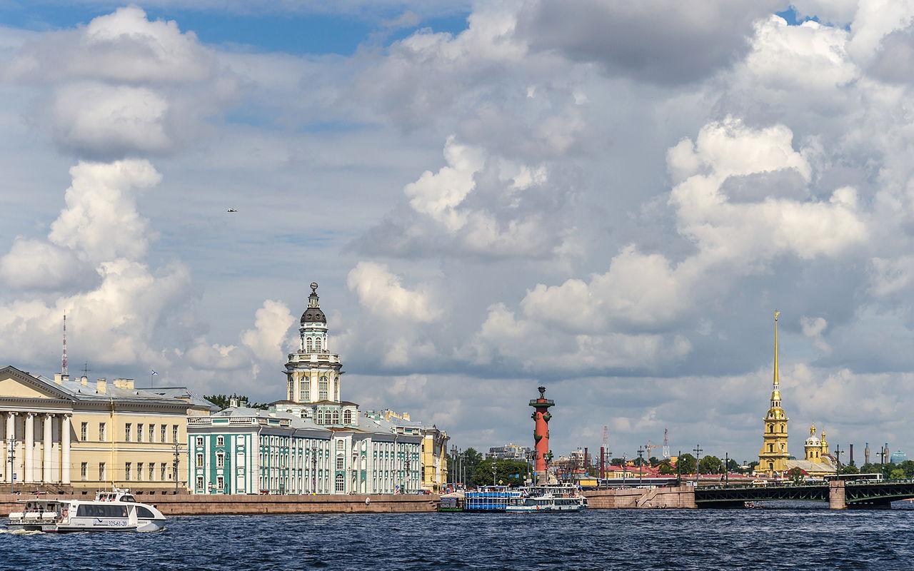 Университетская набережная, стрелка Васильевского острова