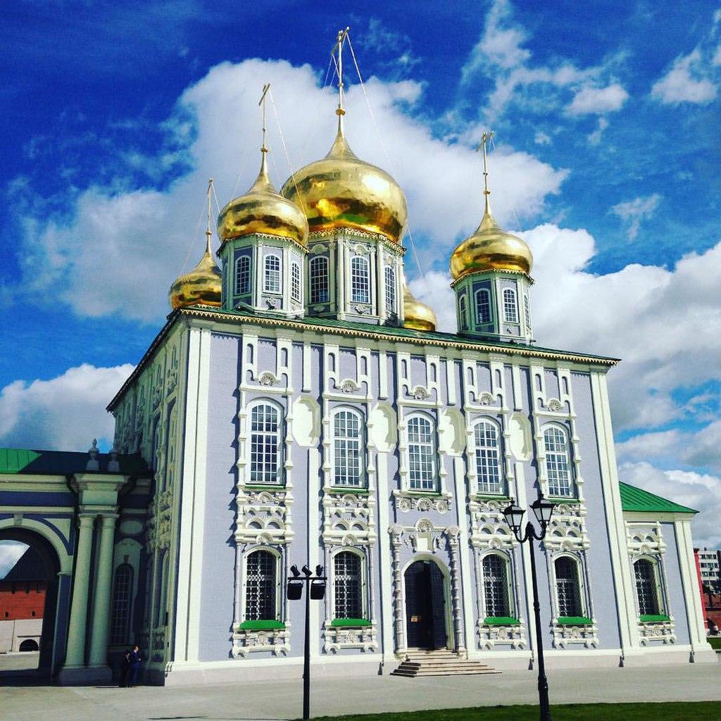 Успенский собор Тульского кремля, фасад