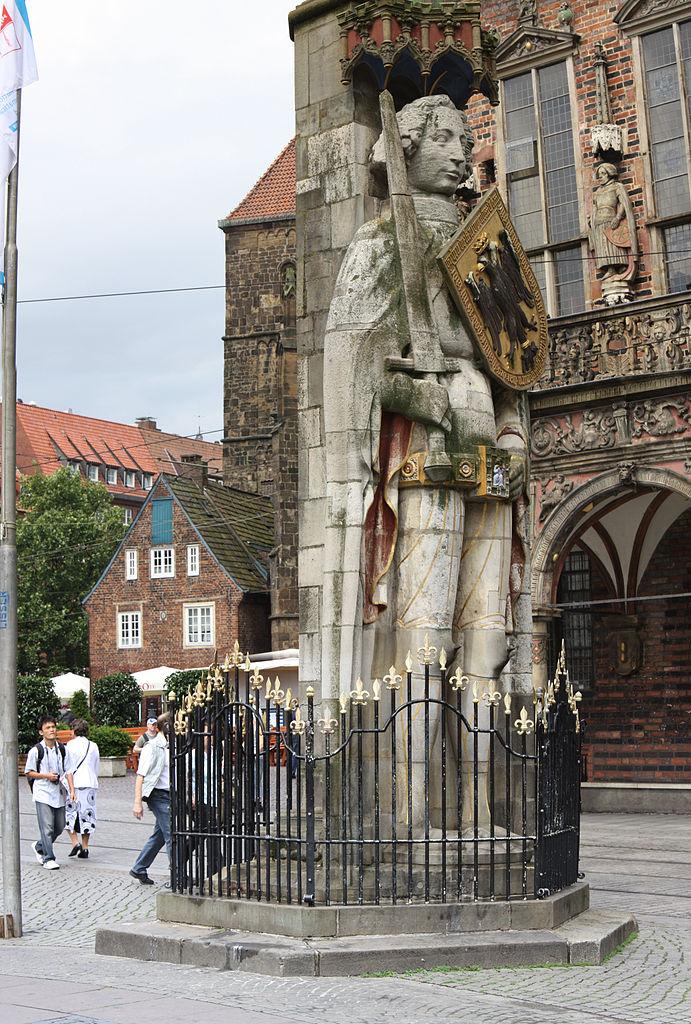 Главный символ города Бремен, Роланд