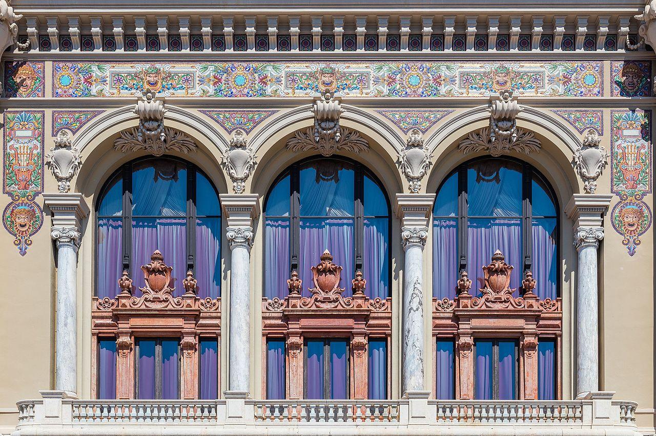 Казино Монте-Карло, балконы
