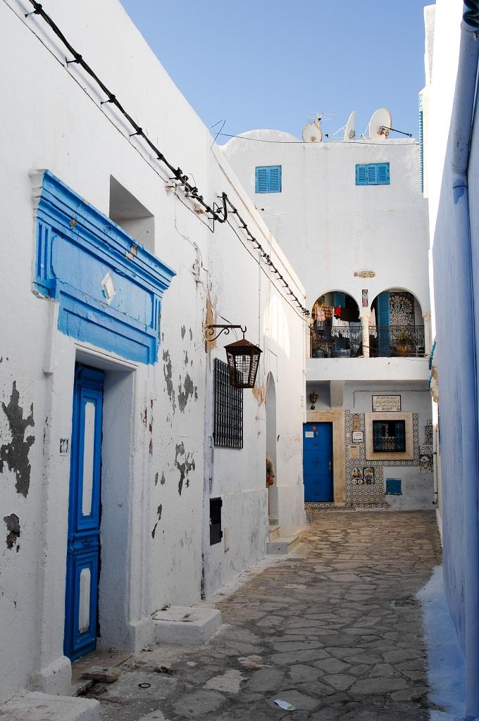 Медина Хаммамета, одна из улиц