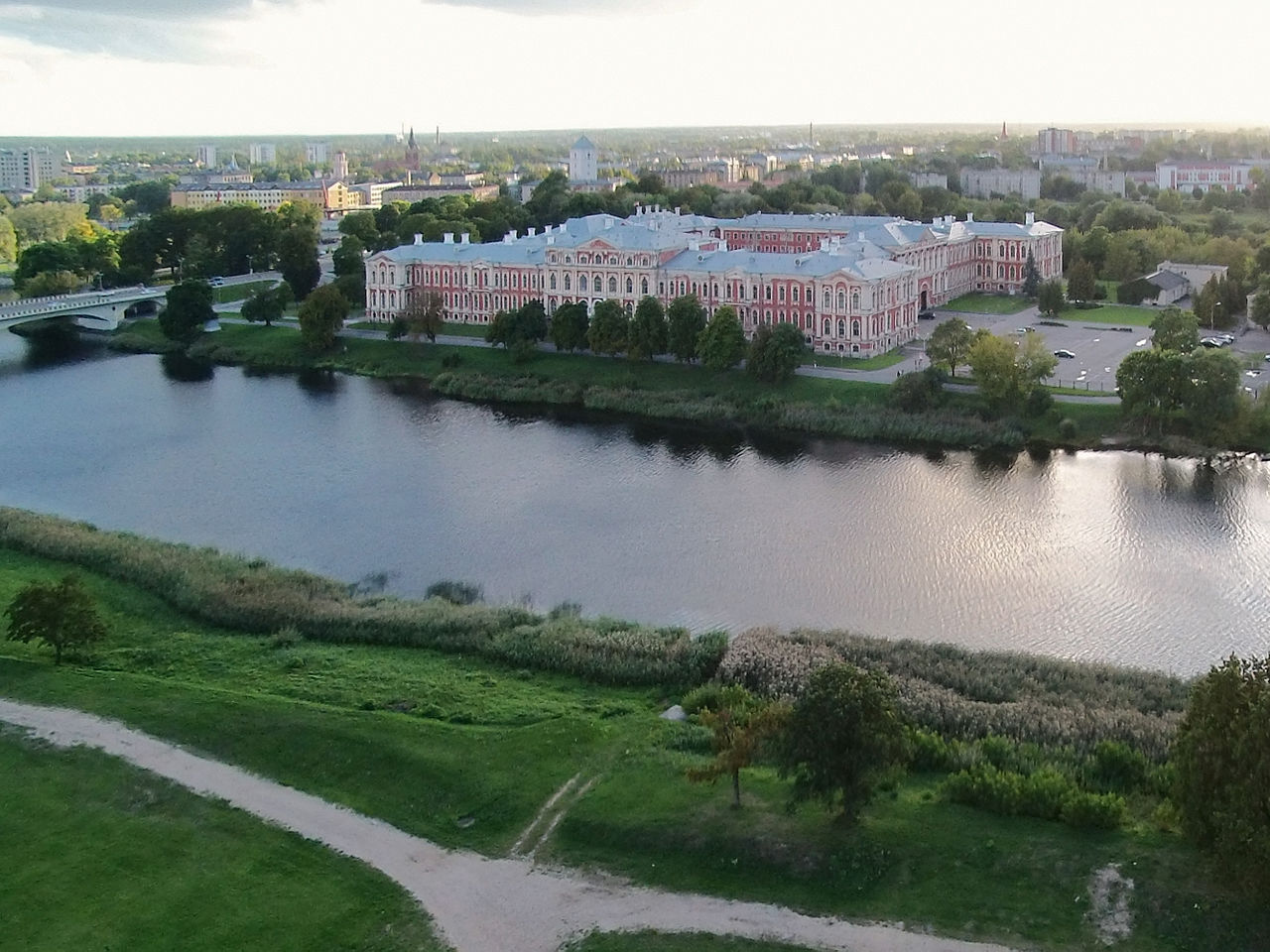 Митавский (Елгавский) дворец, Латвия