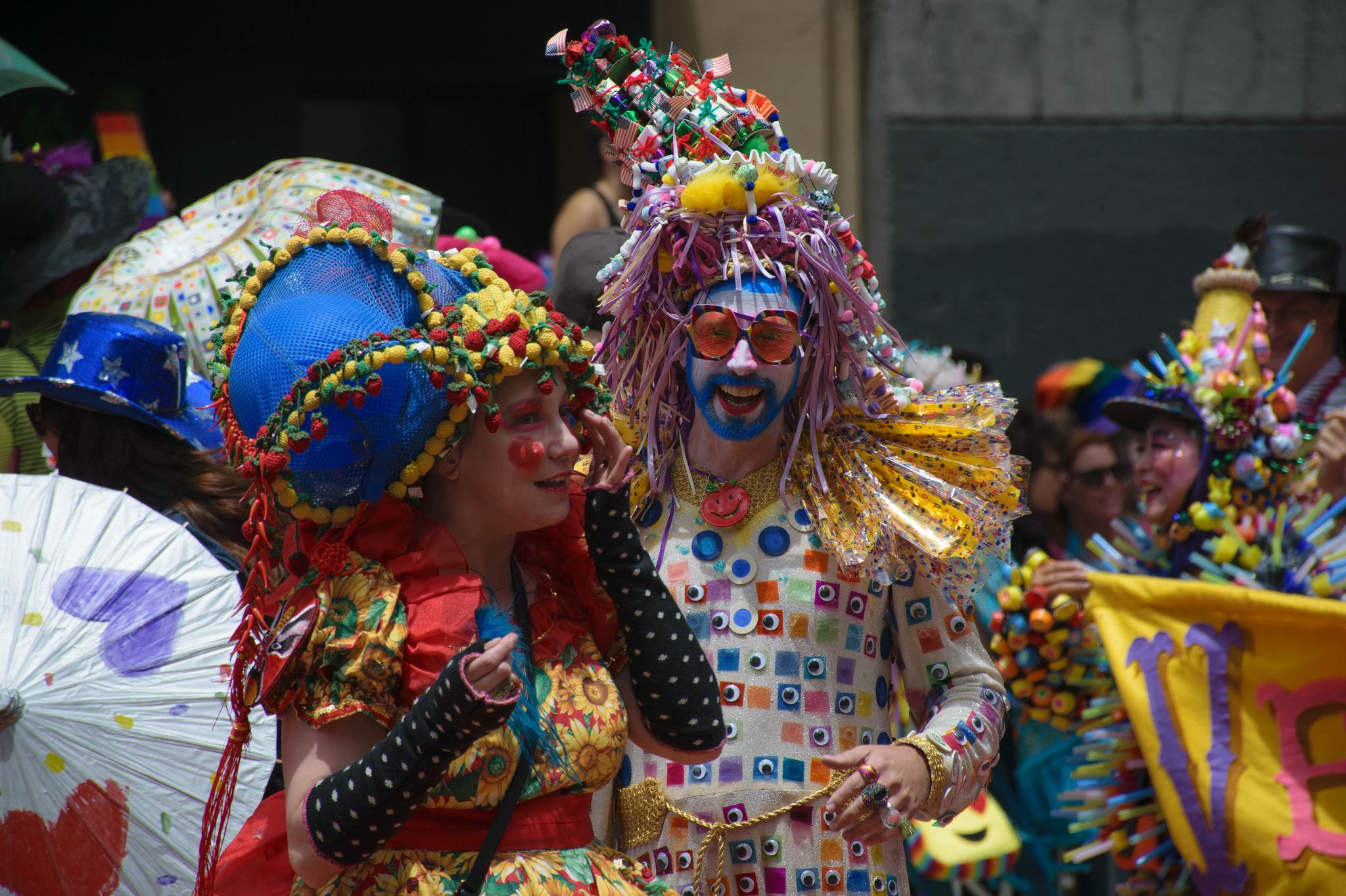 Радужный парад в Сан-Франциско