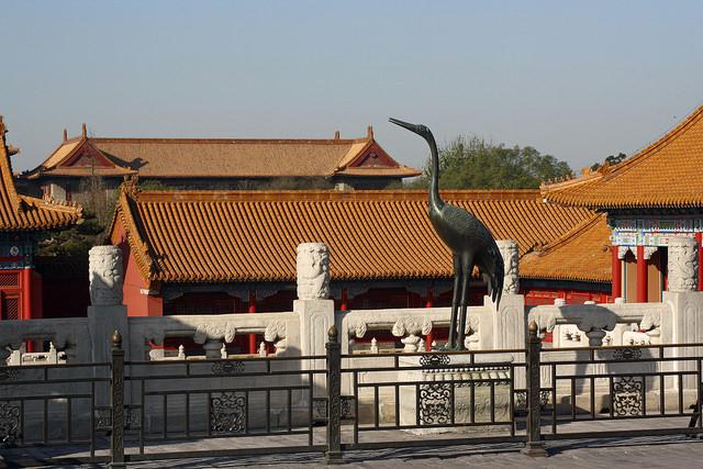 В запретном городе, Пекин
