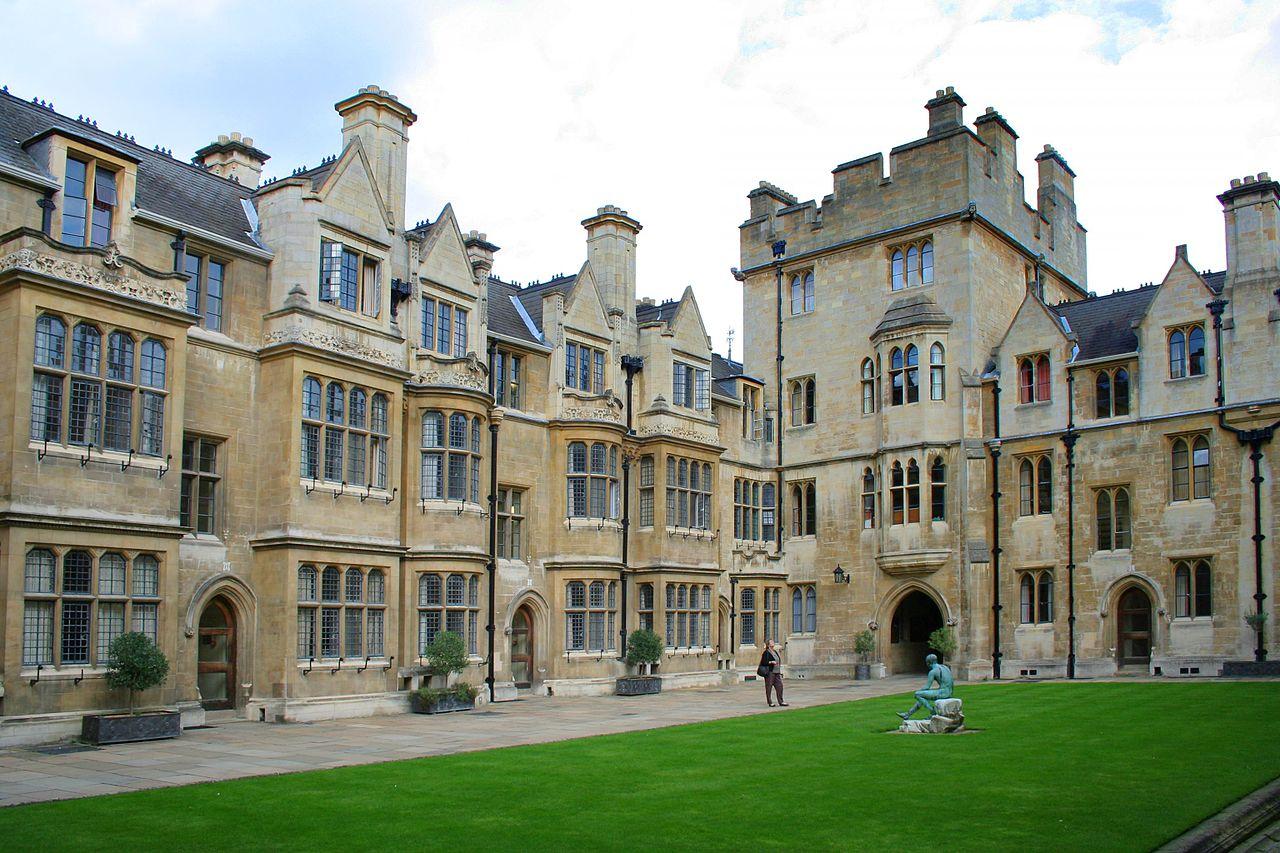 Кембриджский университет, двор Тринити-колледжа