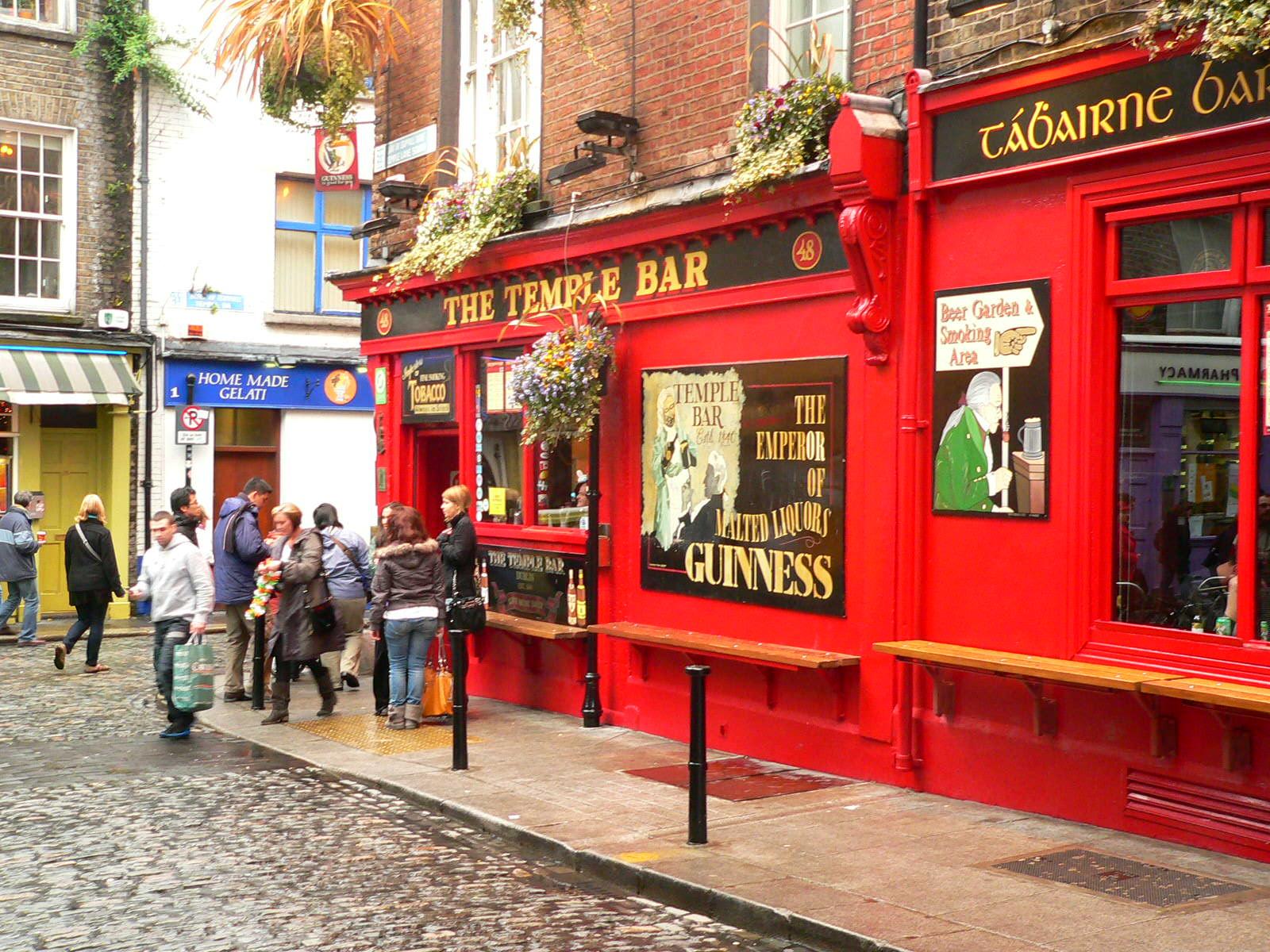 Магазины в районе Темпл-Бар, Дублин
