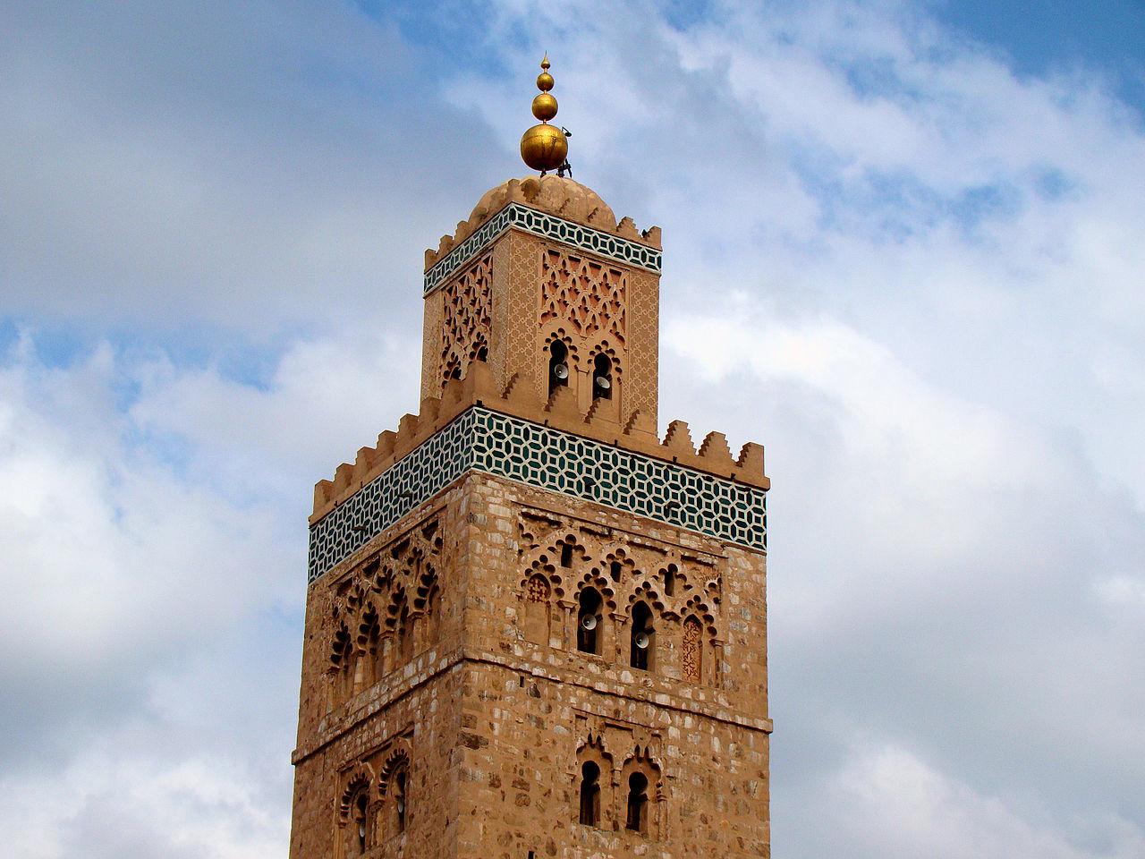 Мечеть Кутубия, минарет
