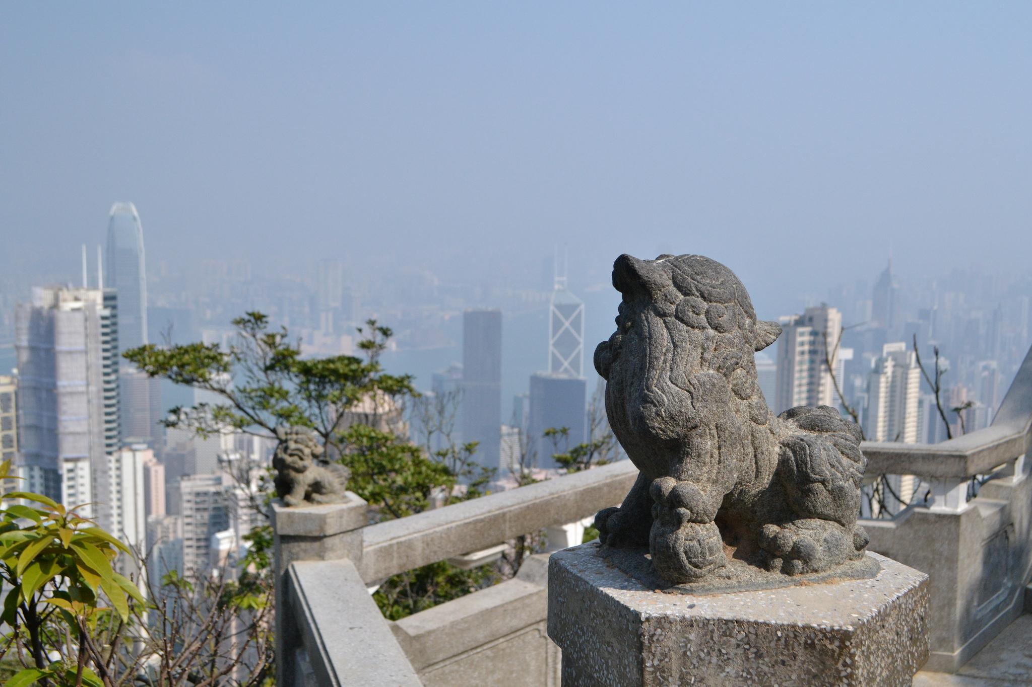 Пик Виктория в Гонконге, павильон львов