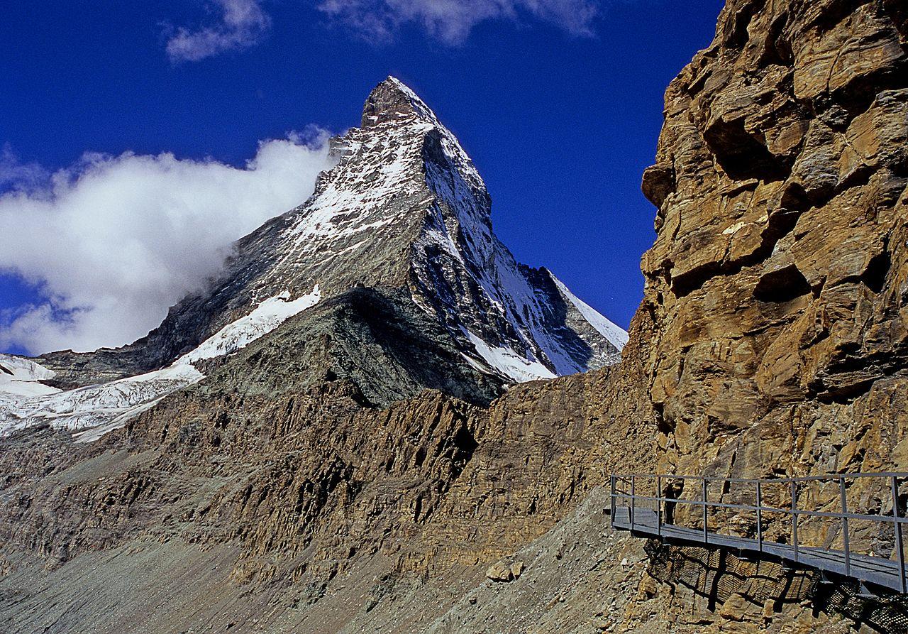 Швейцарские Альпы, вершина Маттерхорн