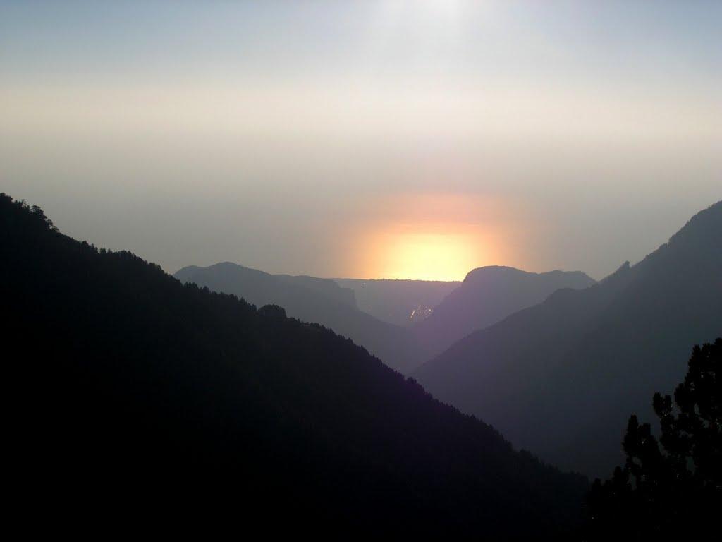 Солнце в горах, Гора Олимп