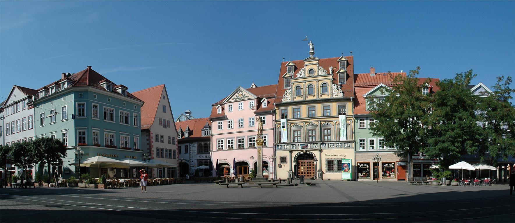 Популярные достопримечательности Эрфурта (Германия), что посмотреть в Эрфурте