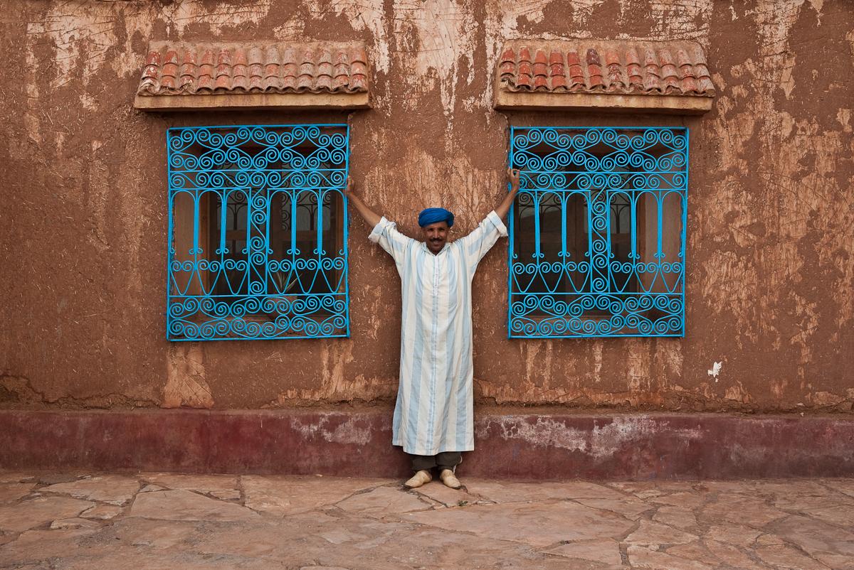 Айт-Бен-Хадду, решетки на окнах