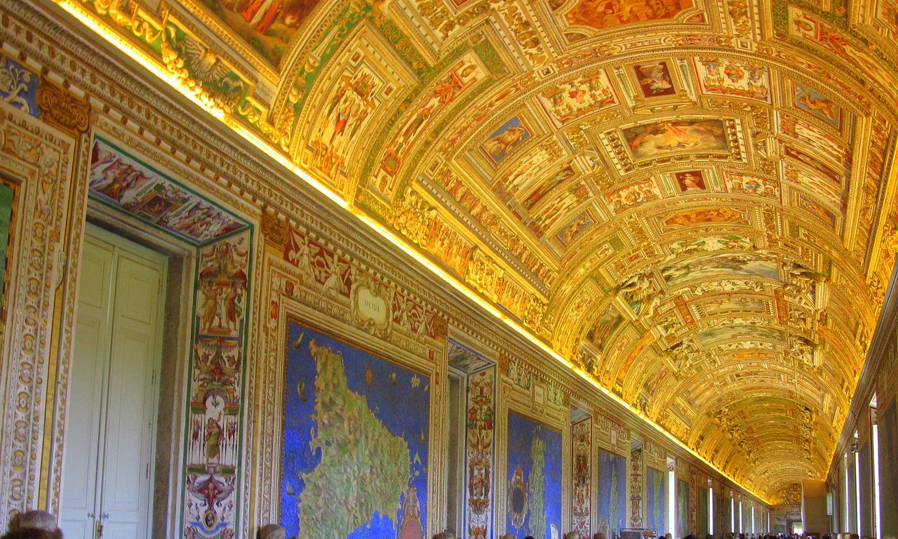 Музейный комплекс Ватикана, Галерея географических карт