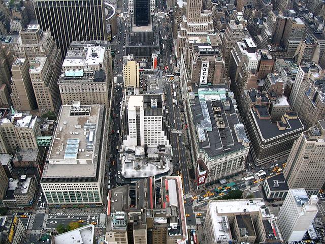 Нью-Йорк, Бродвей