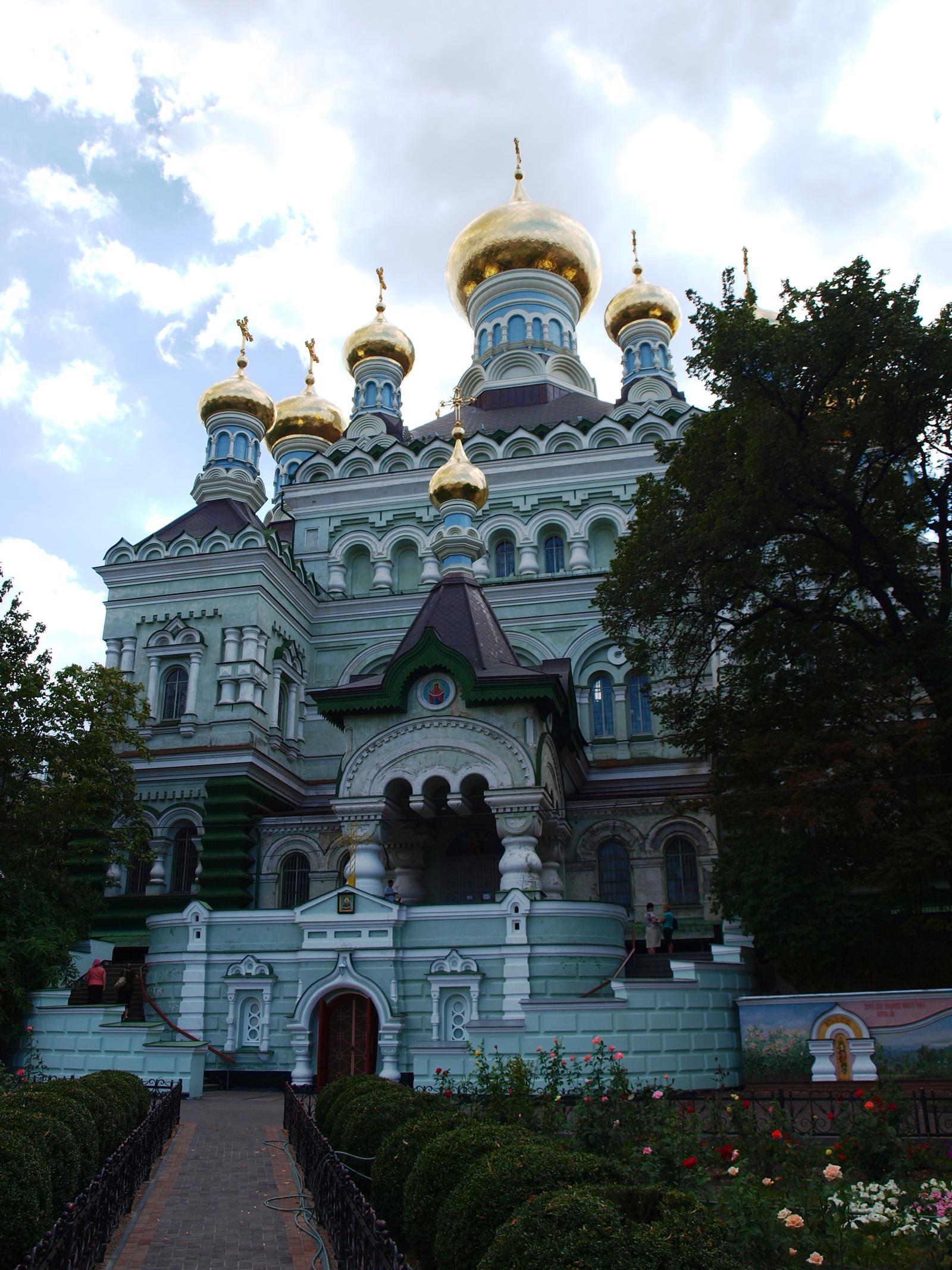 Фасад Никольского собора