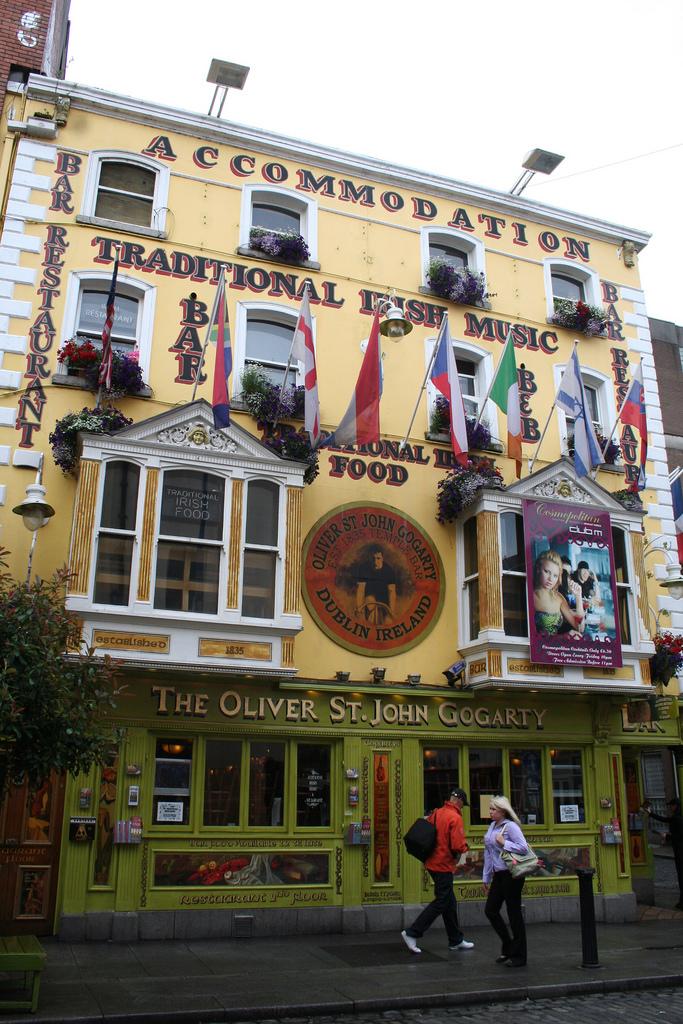 The Oliver St. John Gogarty, Темпл-Бар, Дублин