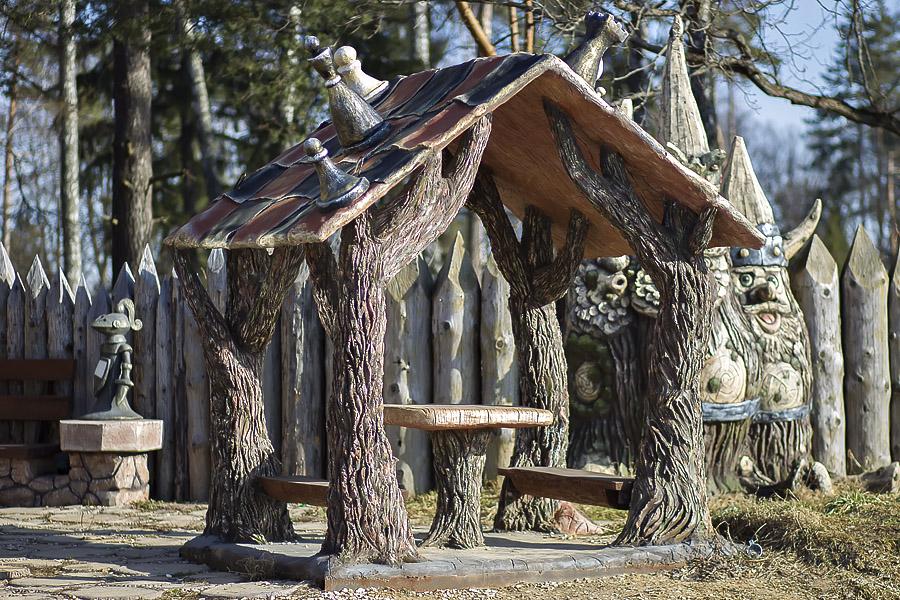 Беседка, Парк «Берендеево царство», Лазаревское