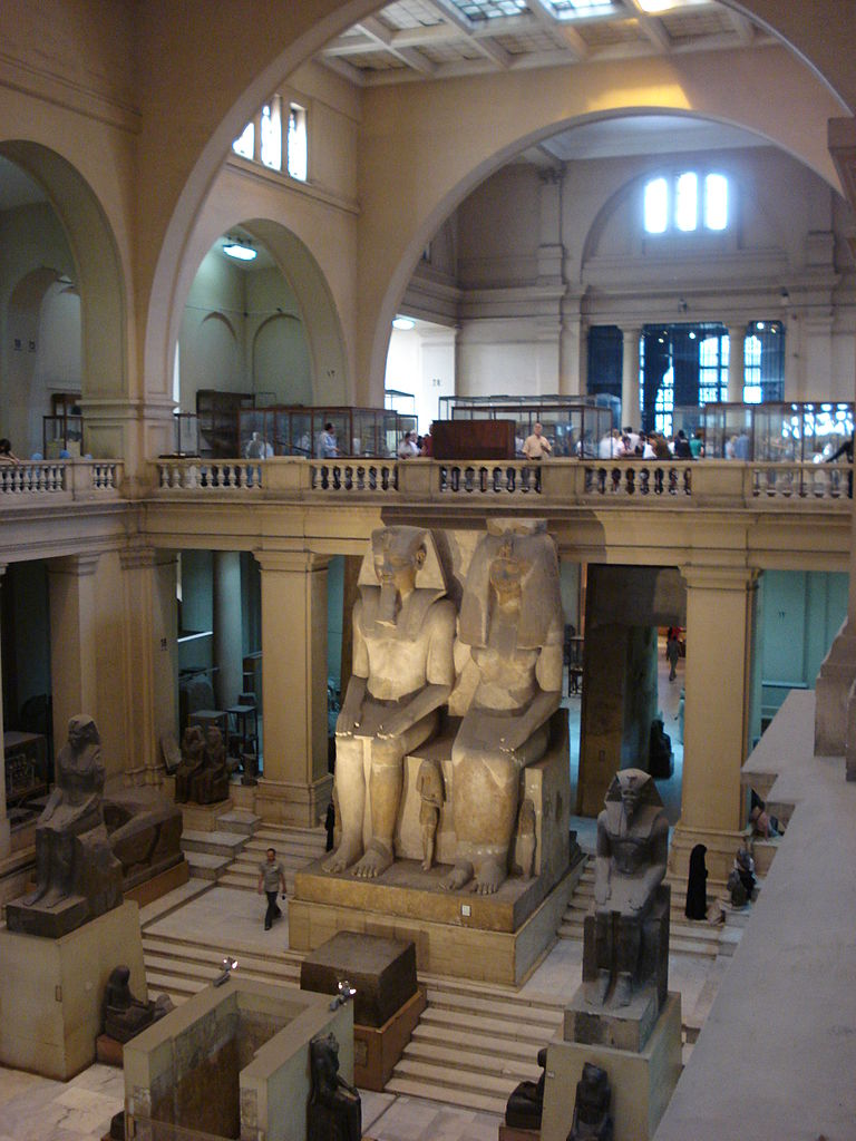 Египетский музей в Каире, один из залов