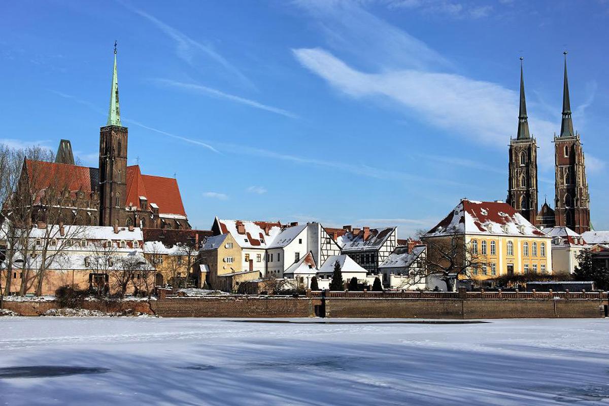 зимняя Варшава