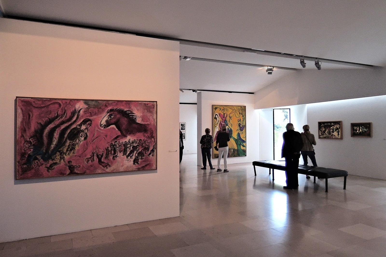 Национальный музей Марка Шагала, один из залов