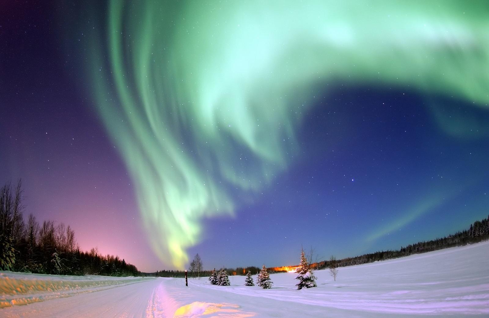 Небесный танец севера