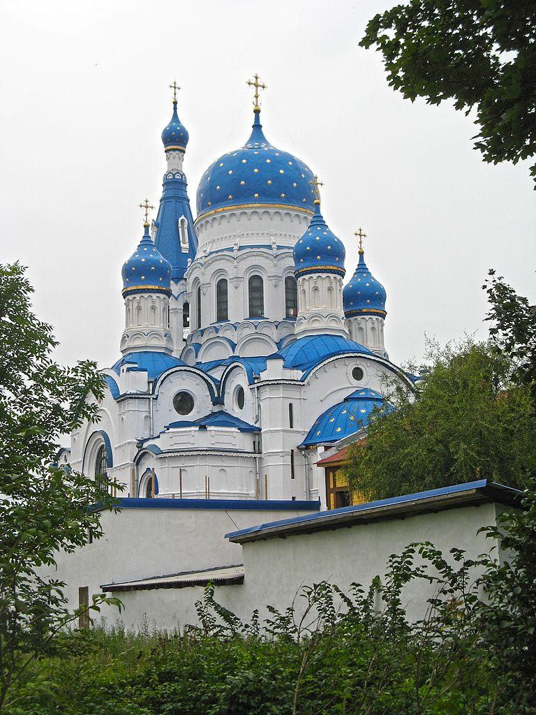 Покровский собор подворья Пятигорского Богородицкого монастыря, Гатчина