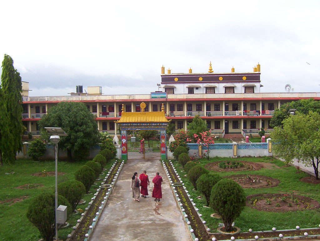 Тибетская колония Мунгод в штате Карнатака, монастырь