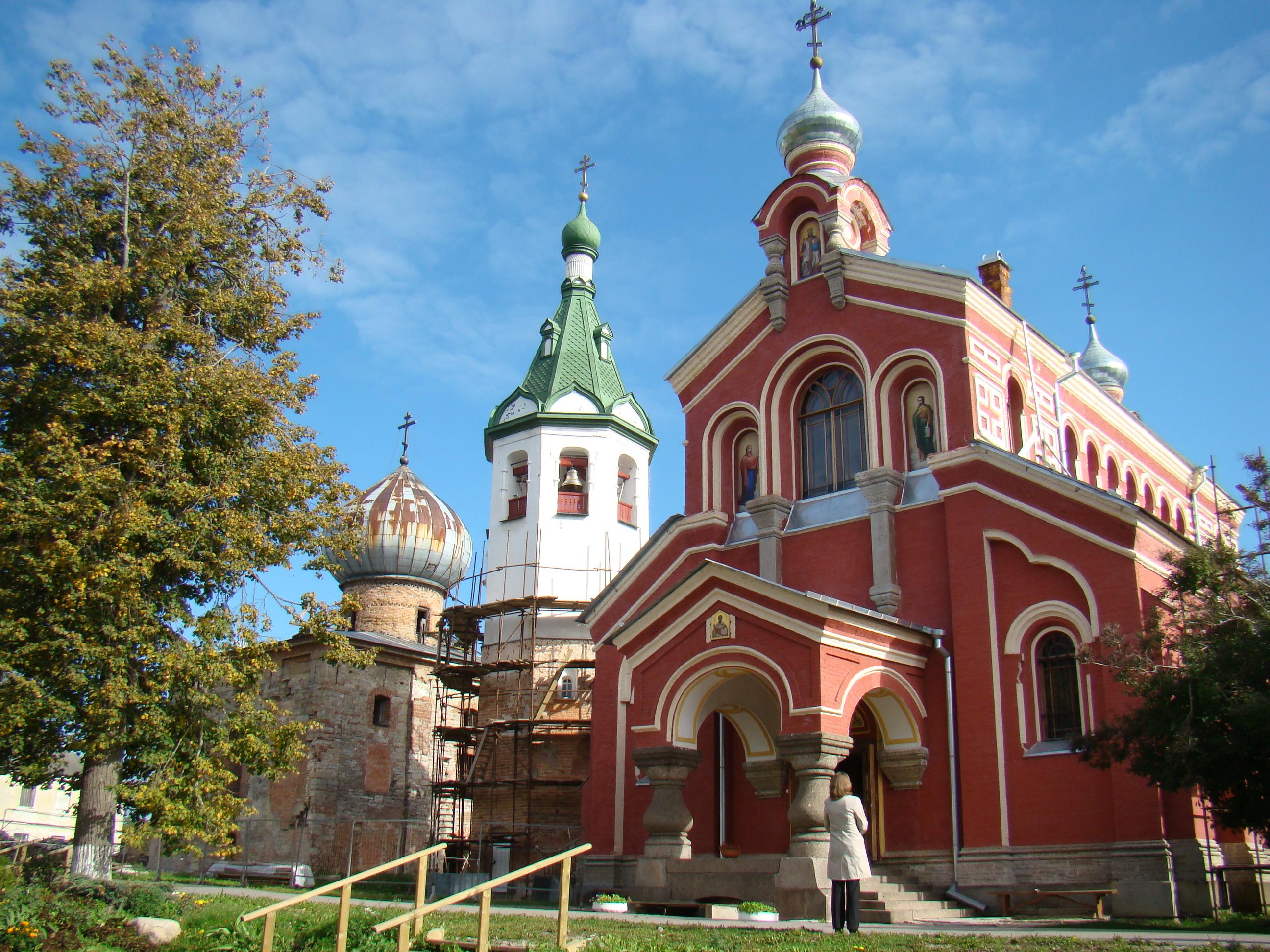 Церковь Иоанна Златоуста в Старой Ладоге