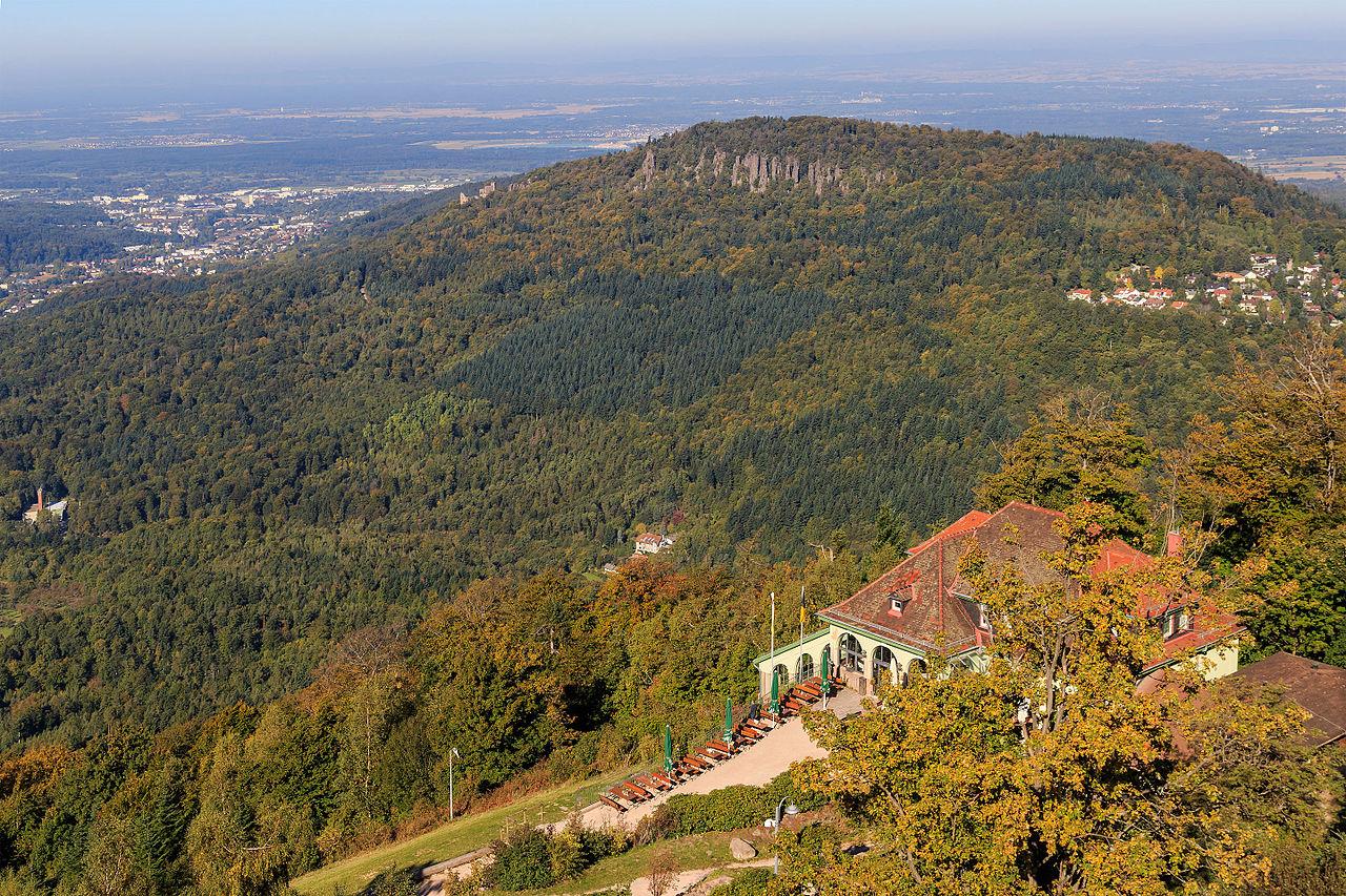 Шварцвальд, вид с горы Меркур