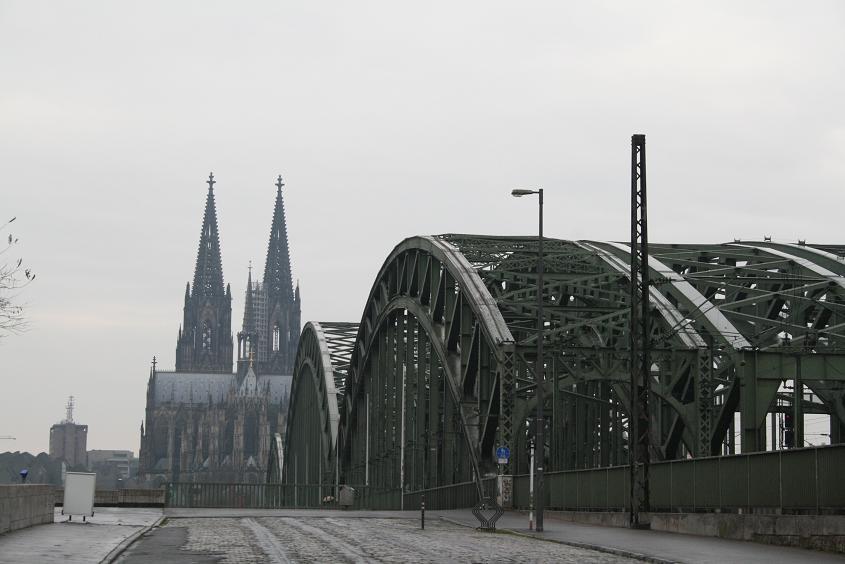 Вид Кельнского собора, Германия