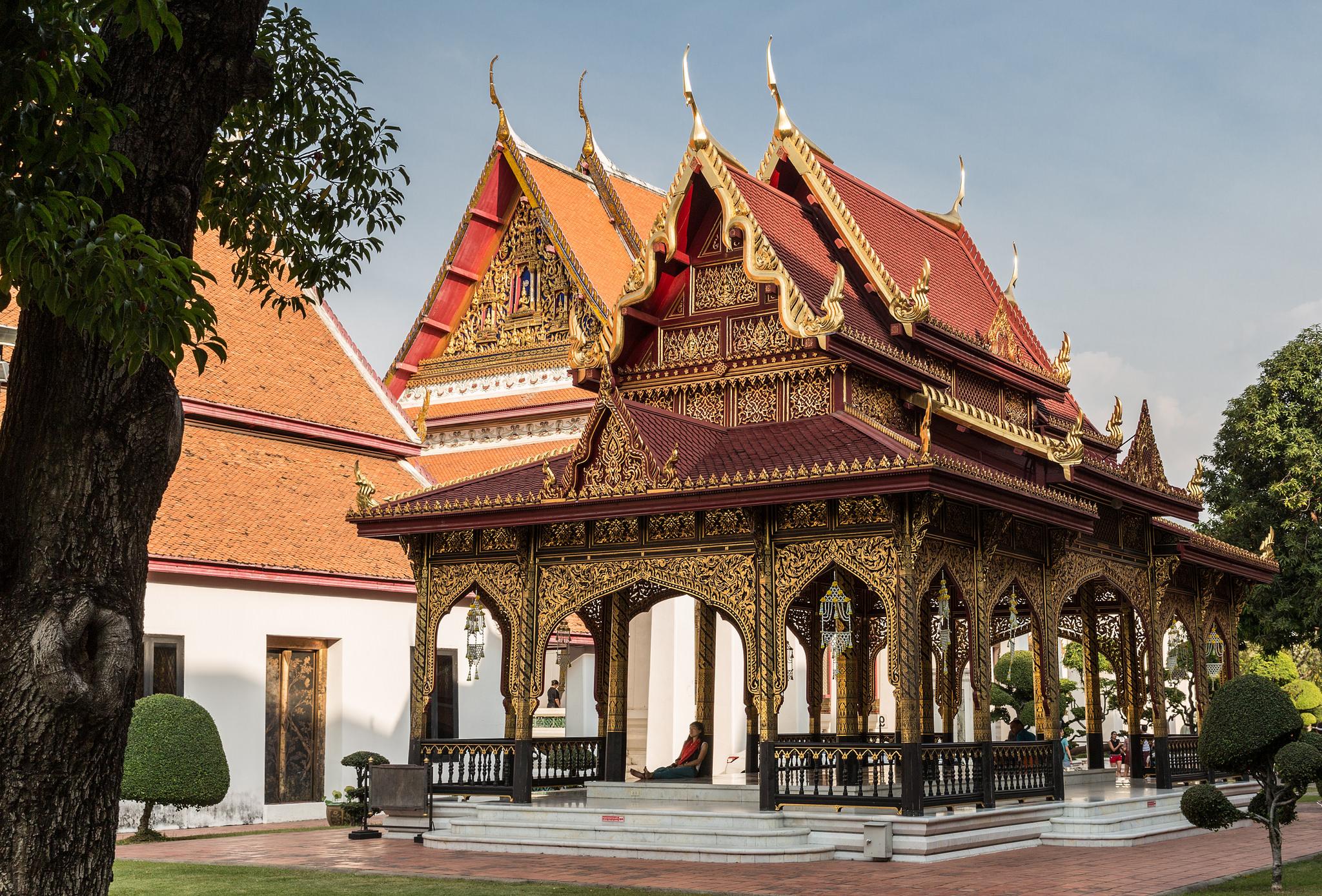 На территории Национального музея Бангкока