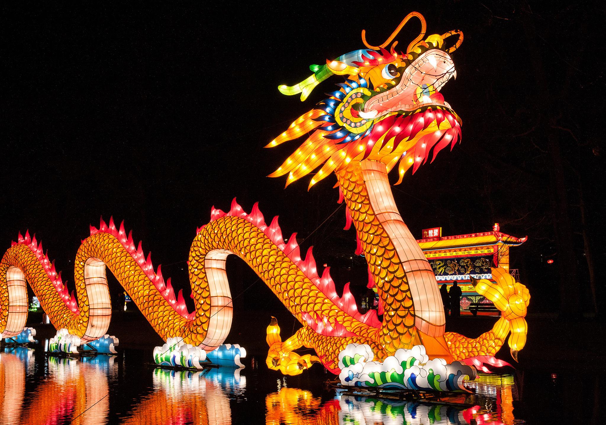 Праздник дракона в Китае