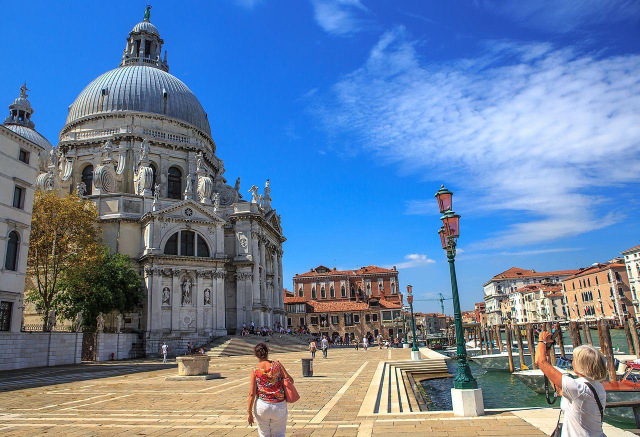 Санта-Мария-делла-Салюте и Венеция